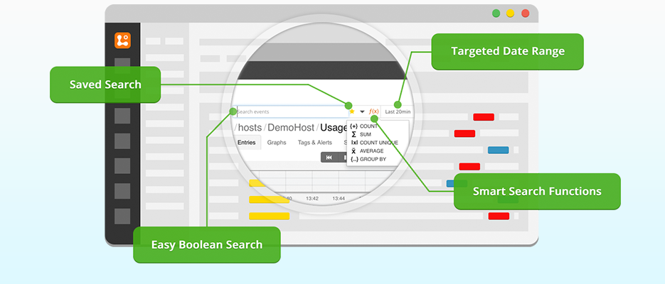 Logentries Simple Real-time Search